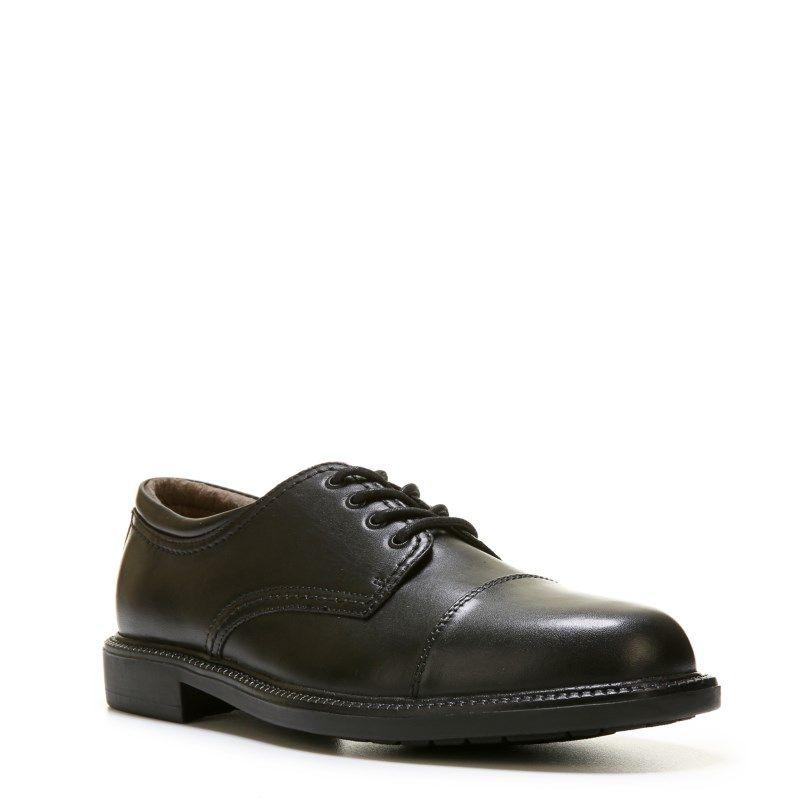 Cap toe oxfords, Oxford shoes black