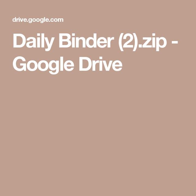 Daily Binder (2).zip - Google Drive