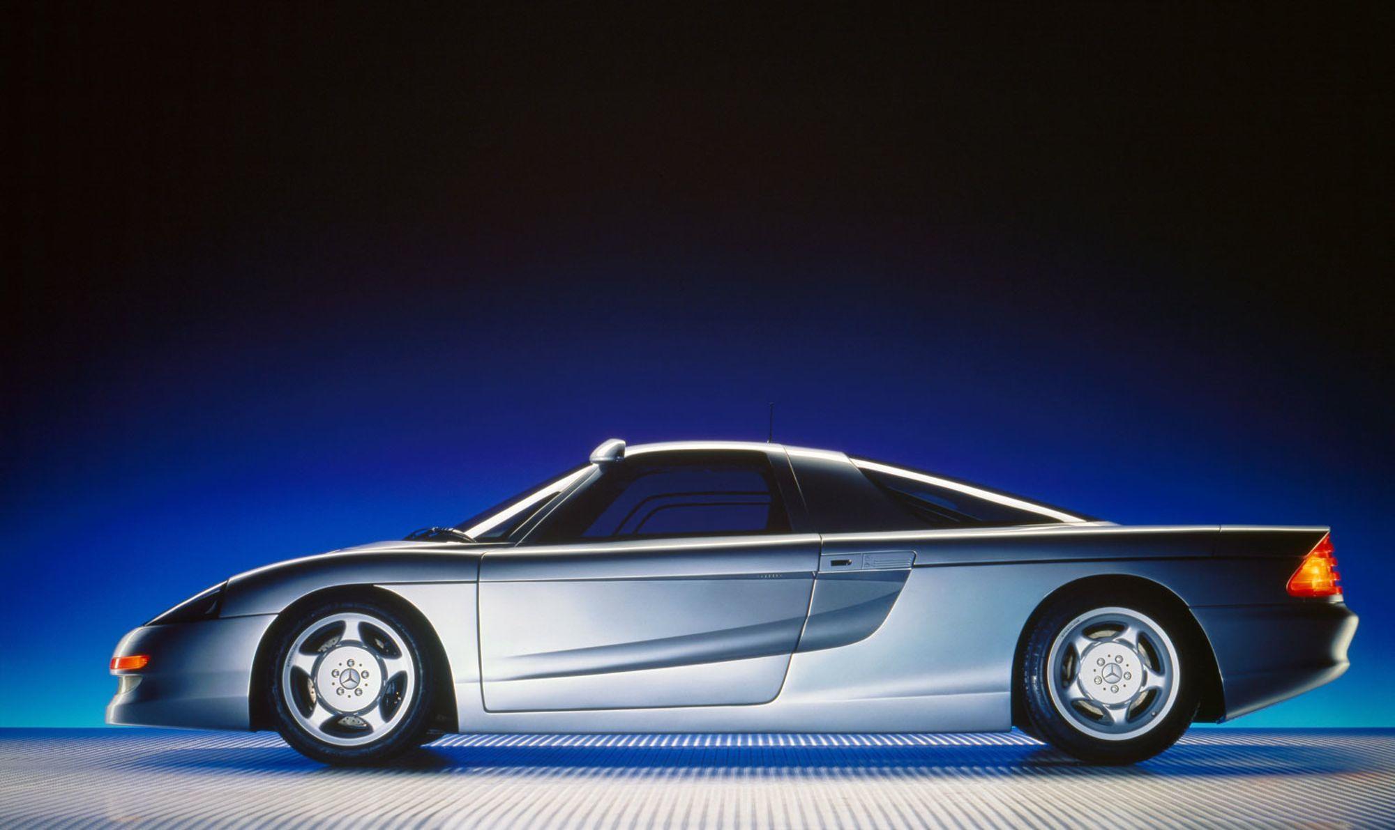Looking Back At A Forgotten Mercedes-Benz Gullwing Supercar - Petrolicious