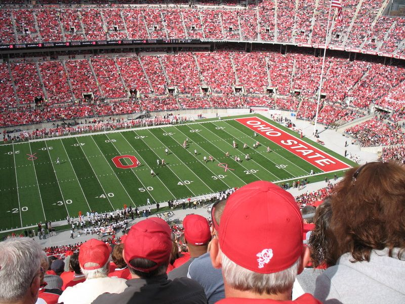 Ohio State Football... looks like our seats the first year