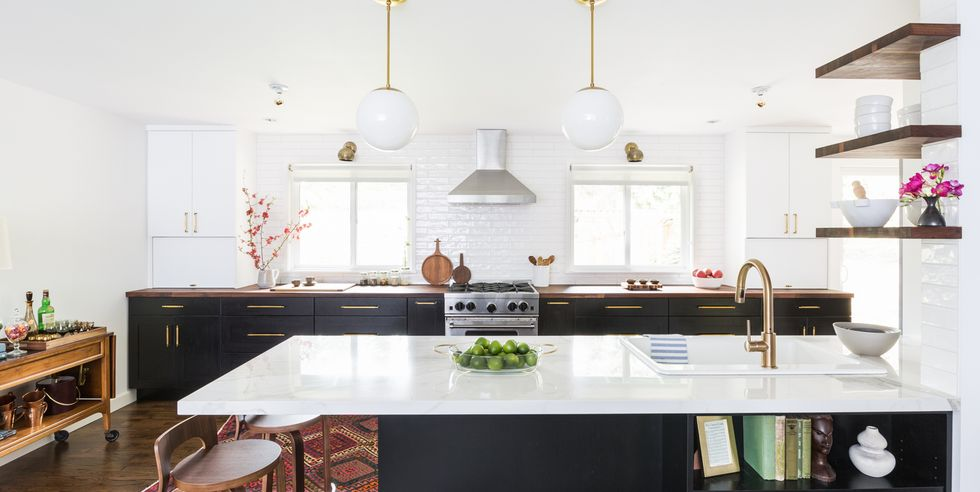 These Kitchen Peninsulas Are (and Functional!) in