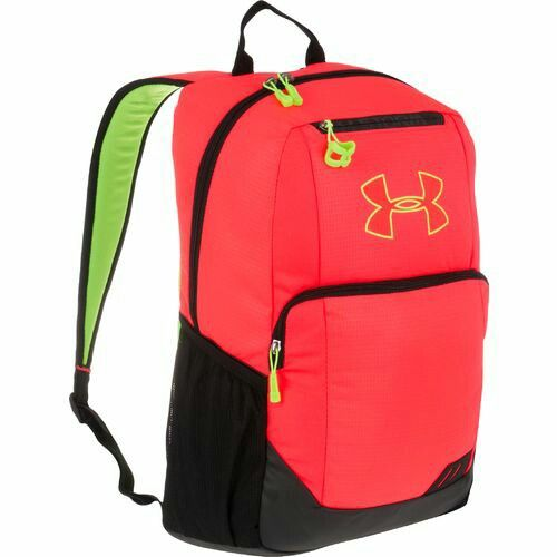 3eca1491b308 A simple bright under armour backpack to give any outfit a pop of color