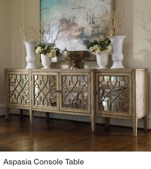 Etonnant Hooker Furniture Sanctuary 105 In. 4 Door Mirrored Console   Itu0027s OK To  Have It All With The Sanctuary 105 In. 4 Door Mirrored Console In Your Home.