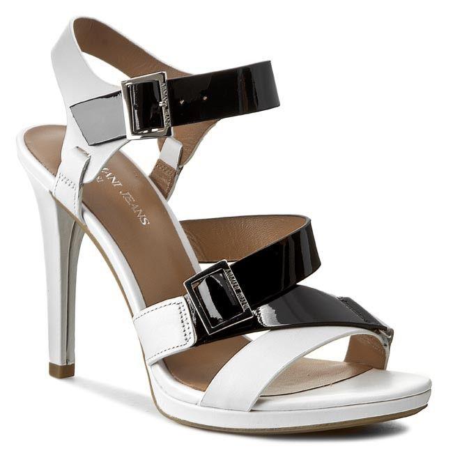 09e8812c54cf Sandale ARMANI JEANS - A5540 35 1D White