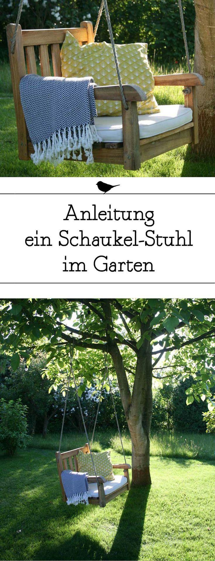 Baue Einen Schaukelstuhl Fur Deinen Garten Diy Schaukel Gartenschaukel Schaukel Garten Gartenschaukel Schaukel