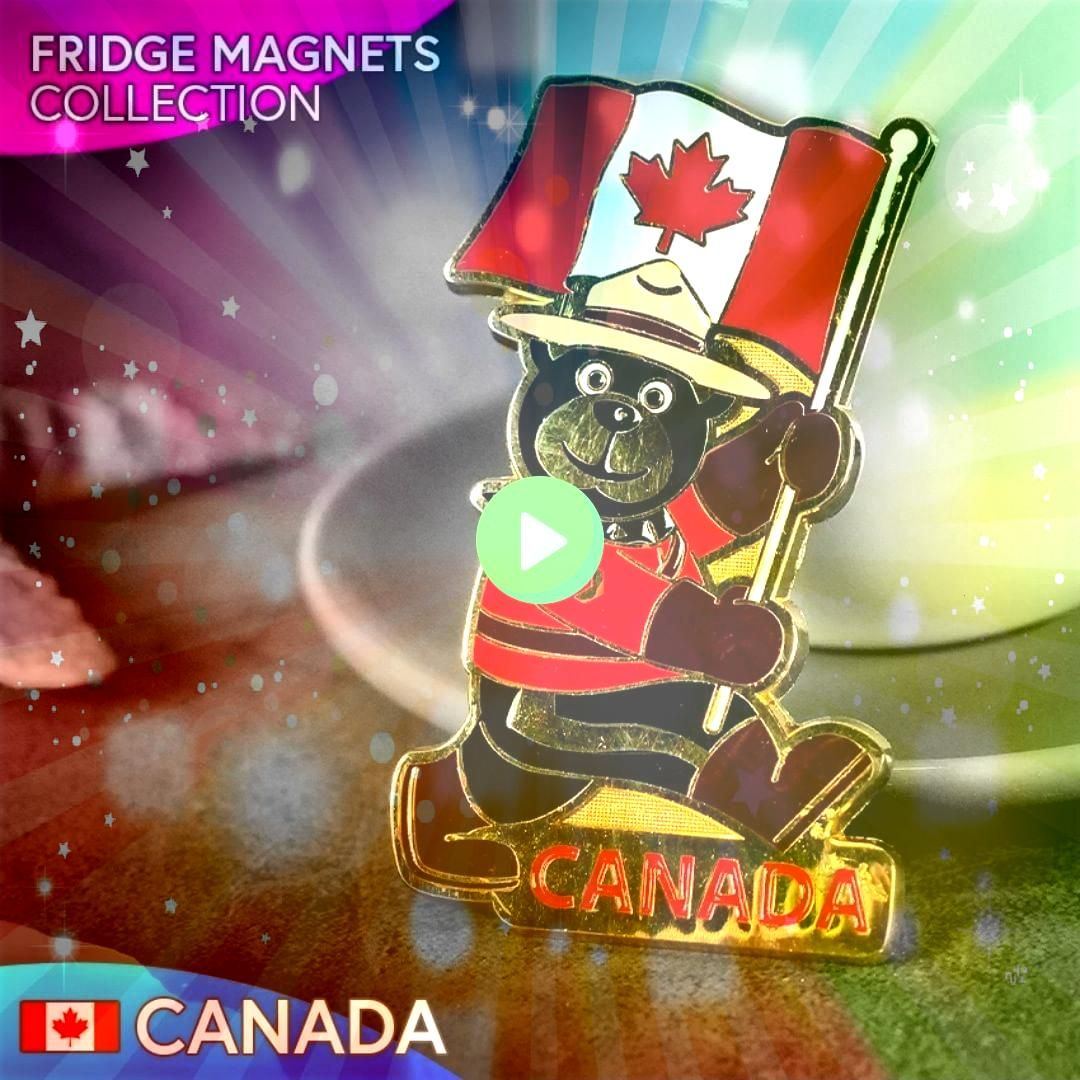 magnetiek Kanada Collection of magnets CanadaZbierka magnetiek Kanada Collection of magnets Canada Hot Springs Arkansas Where to Eat and Other Travel Recommendations Part...