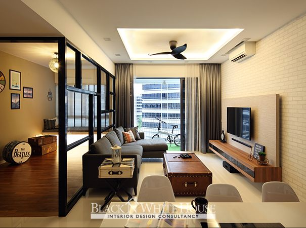 Swank Industrial Home \ Decor Singapore Interior design ideas