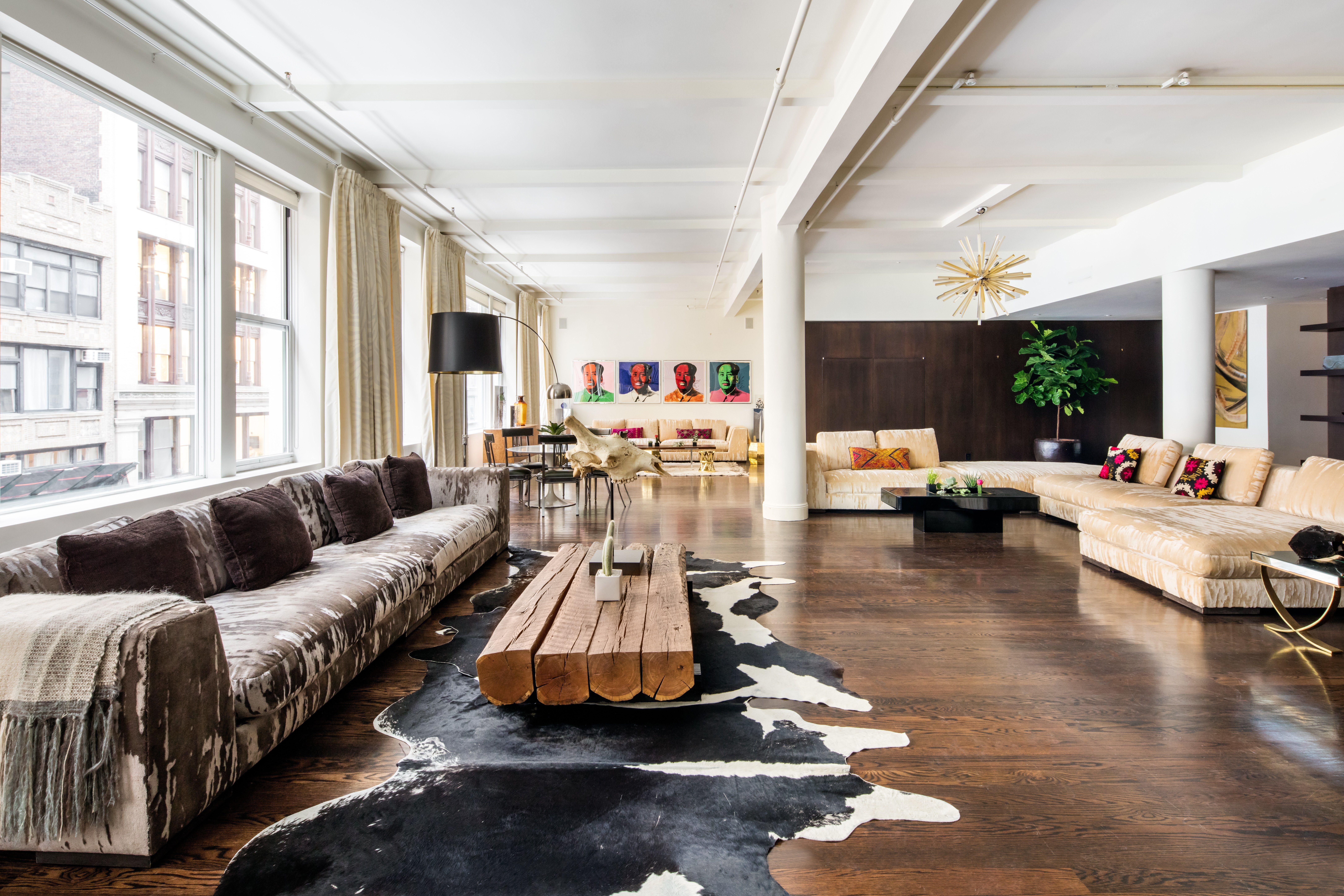 Lauren Santo Domingo S 7 25 Million Industrial Loft Is For Sale Nyc Loft Nyc Apartment Home