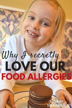 Food allergies can be a big pain! But there are some benefits to them. I'm letting the secrets out about why I love our food allergies.