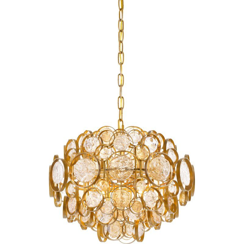 Mercer41 Brighton 6 Light Unique Statement Geometric Chandelier Wayfair In 2020 Geometric Chandelier Quoizel Pendant Light