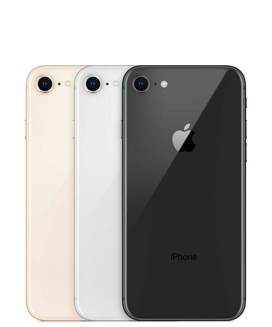 Apple Iphone 8 64 128 256gb At T T Mobile Gsm Unlocked Red Space Gray Silver New Iphone 8 Apple Iphone Iphone
