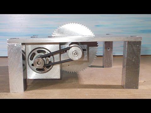 how to make a mini saw