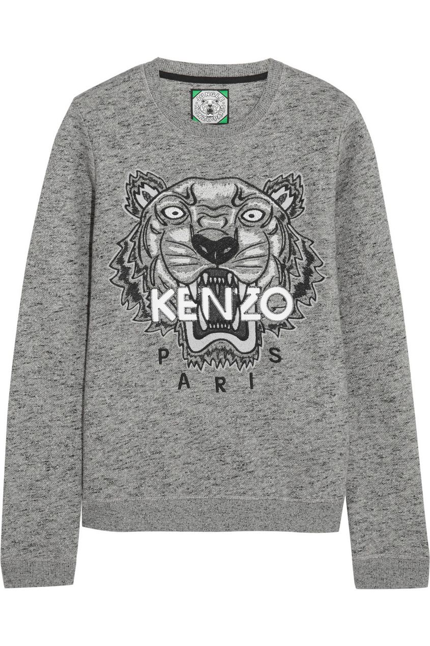 Channel your inner wild side with this awesome Kenzo tiger sweatshirt Mode  Femme, Mode Grise 7f62e7f9461