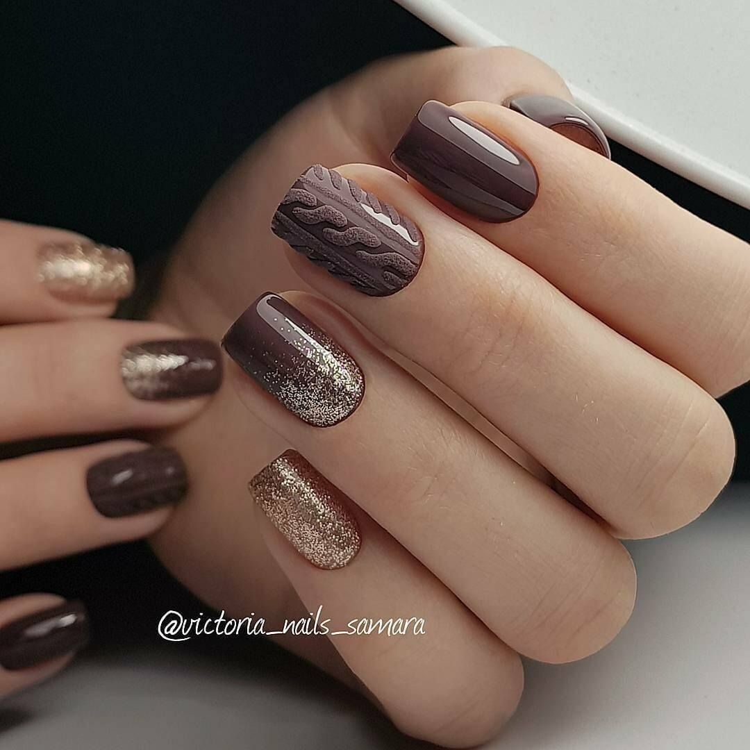 Plain Nail Art Designs