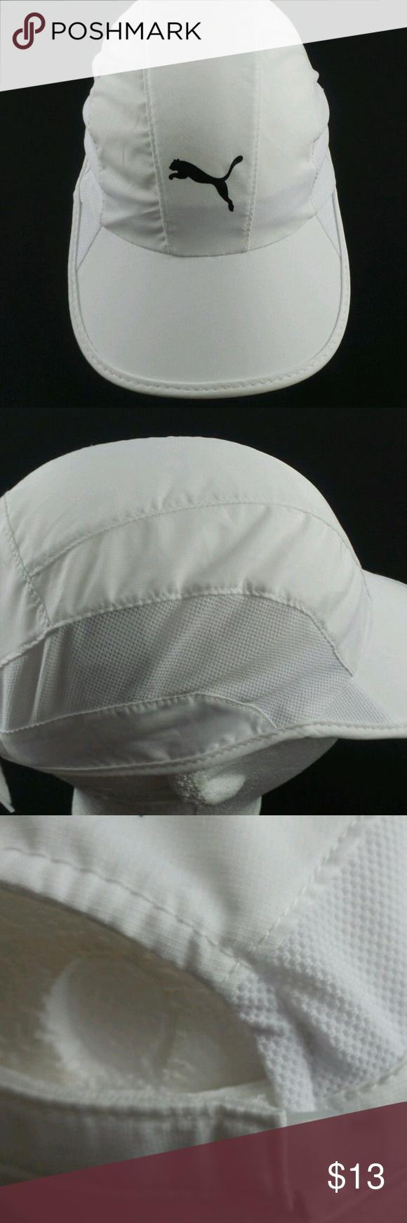 official photos 0bda7 c4f5e PUMA Lightweight Running Hat Men White Cap Basics This posting is for a PUMA  Lightweight Running