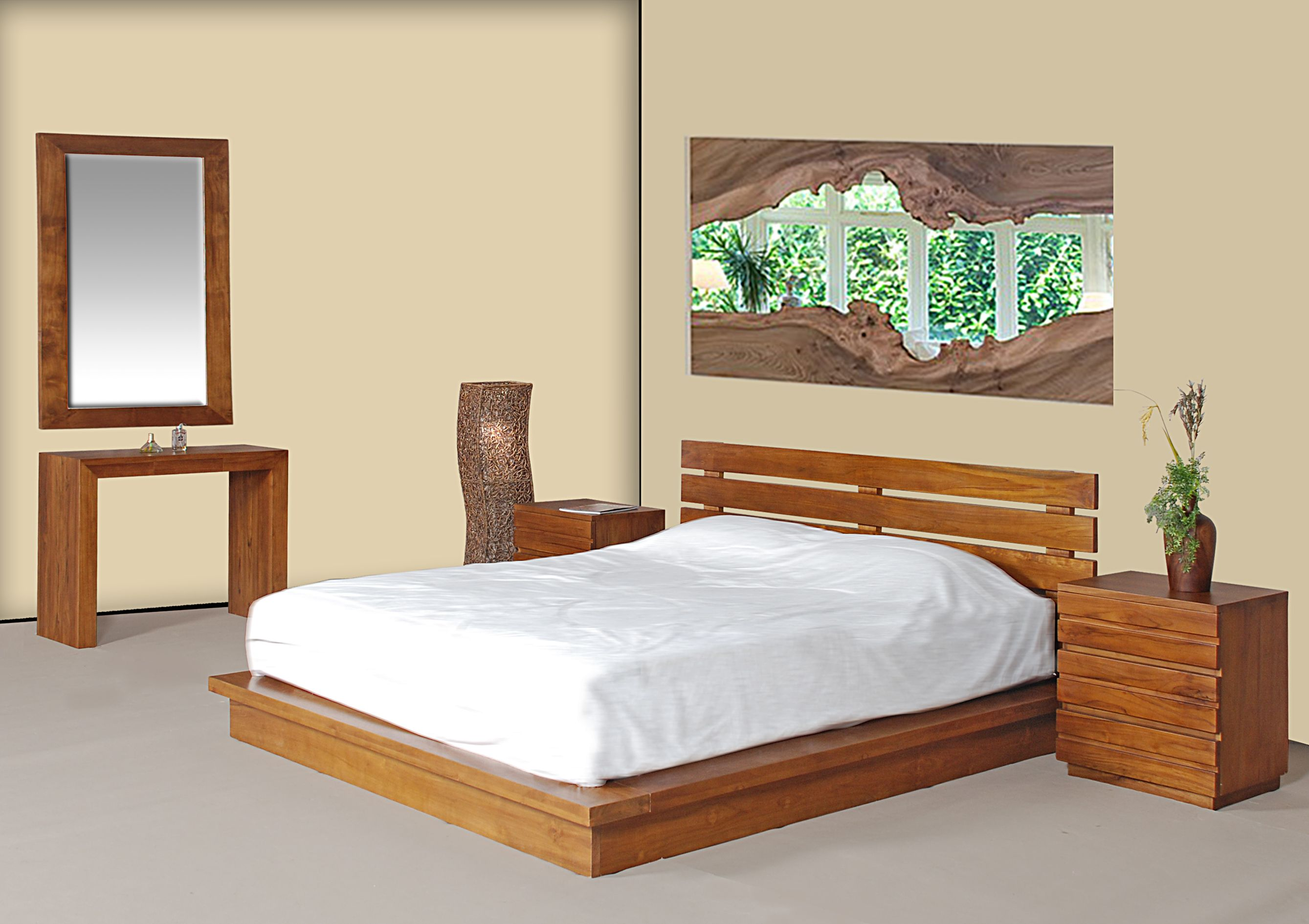 Teak Wood Bedroom Set in Malaysia 03-80820341 | Teak wood bedroom ...