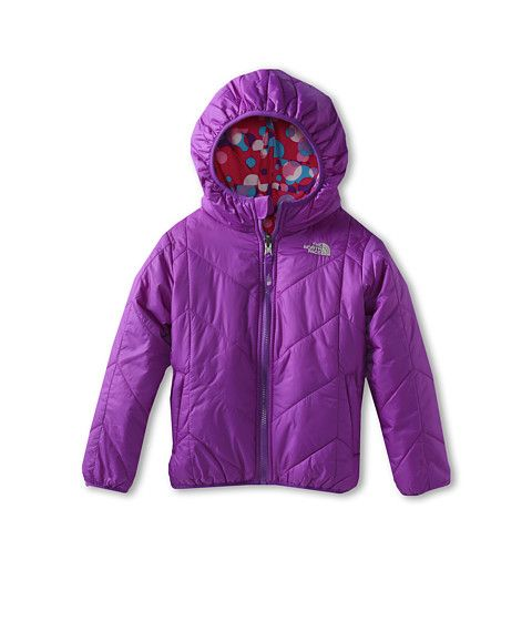1774868b2 The North Face Kids Girls  Reversible Perrito Jacket (Toddler) Pixie ...