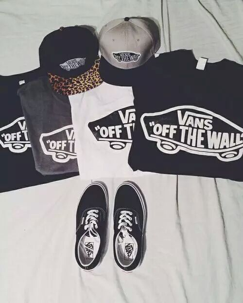 Vans Quot Off The Wall Quot T Shirts Just Girls Pinterest T