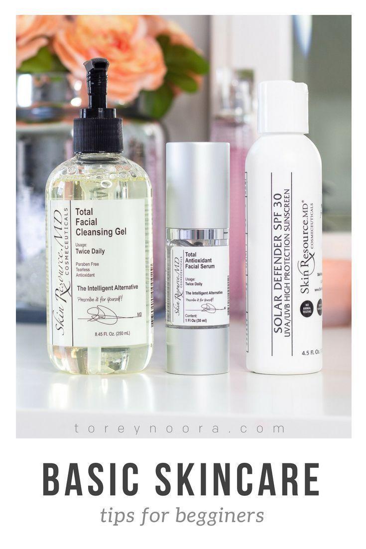 Basic Skincare Tips For Beginners #skincareroutine