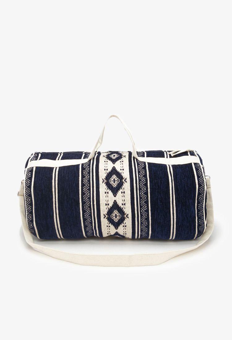 55a3ac7795bd Southwestern-Patterned Duffle Bag