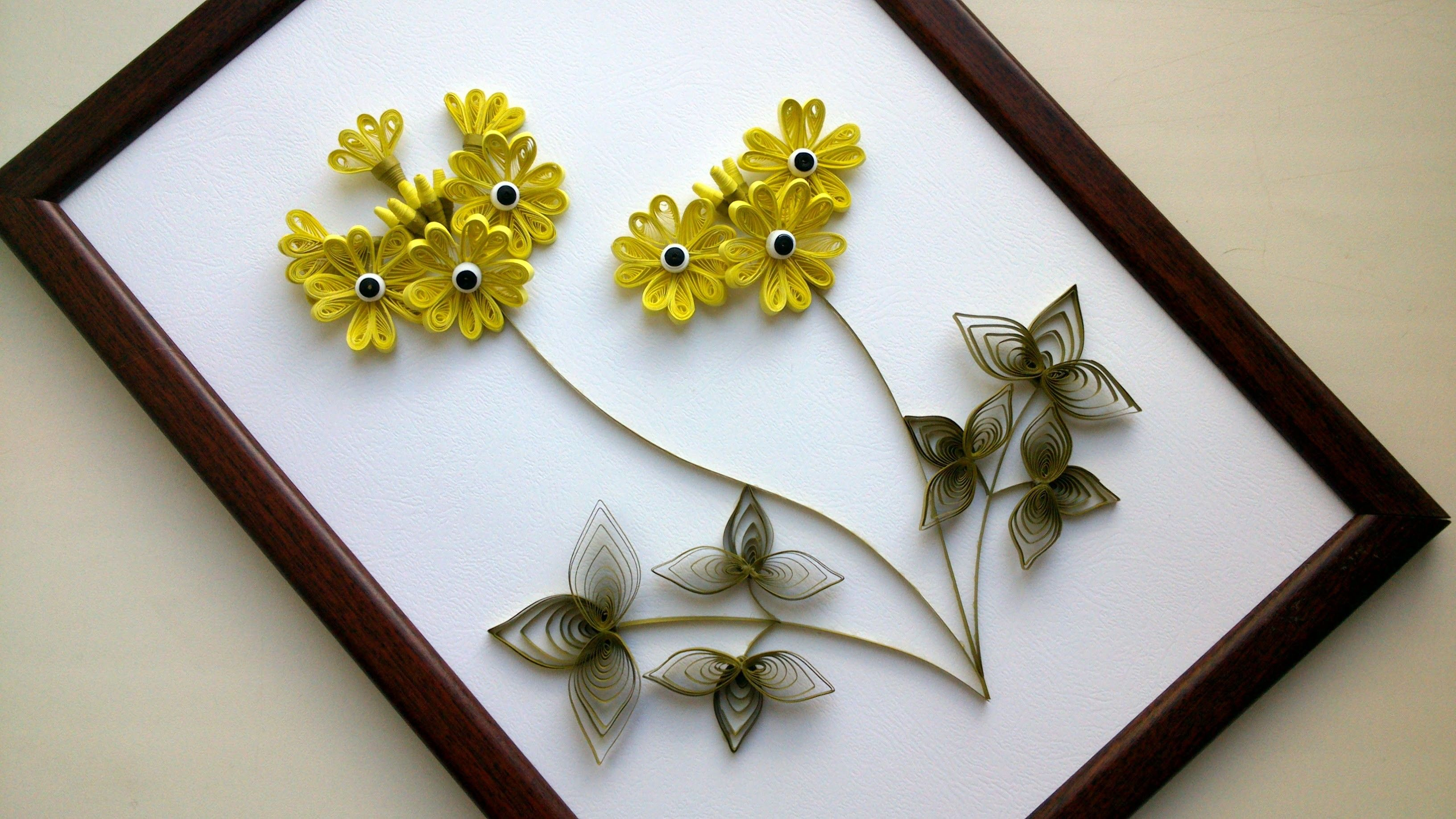 Diy Home Decor With Paper Quilling Art Diy Room Decor With