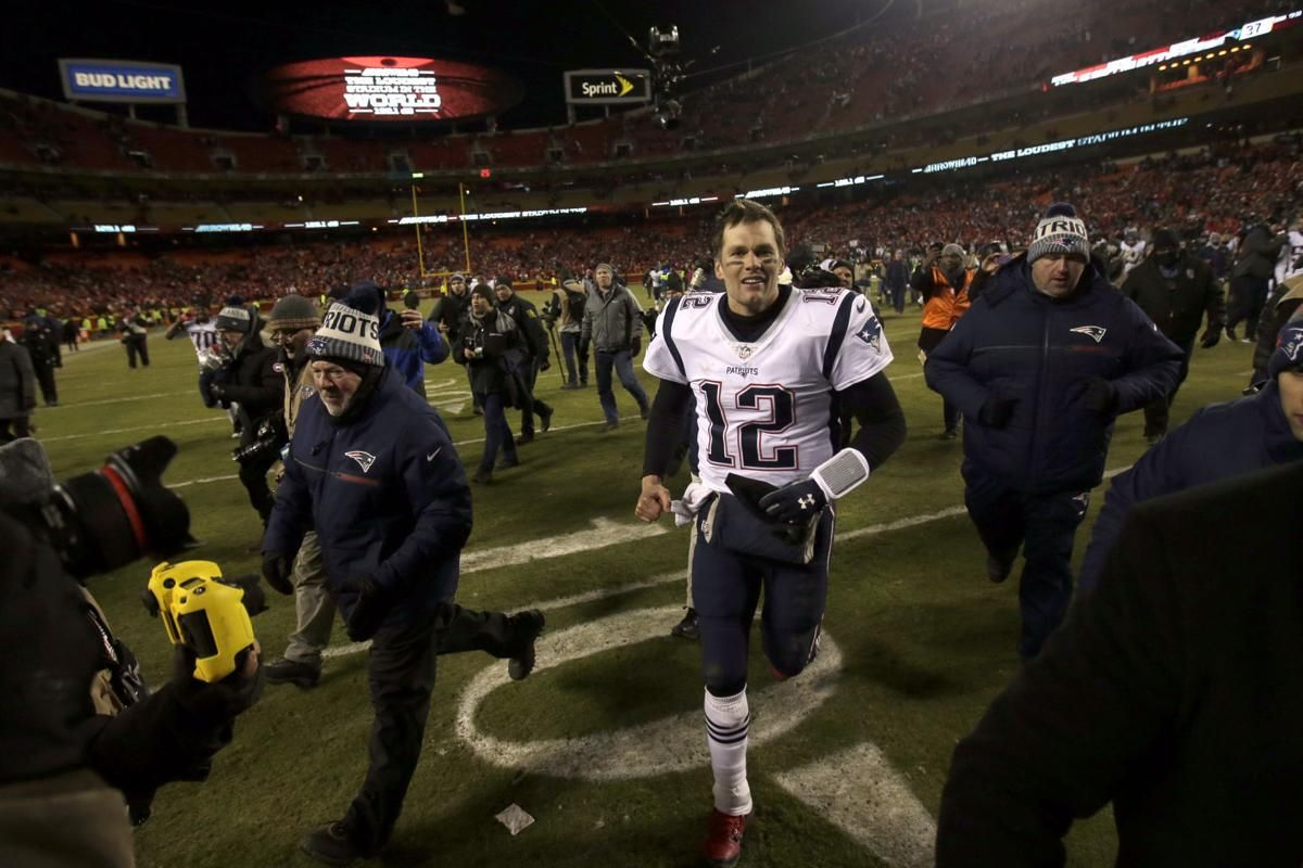See key moments from 2 overtime NFL championship games