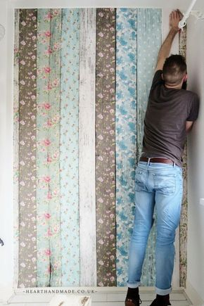 How To Hang A Wall Mural The Easy Way! A video Tutorial to teach you how to install a wall mural in your home
