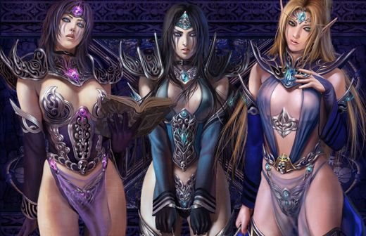 sexy females of warcraft World