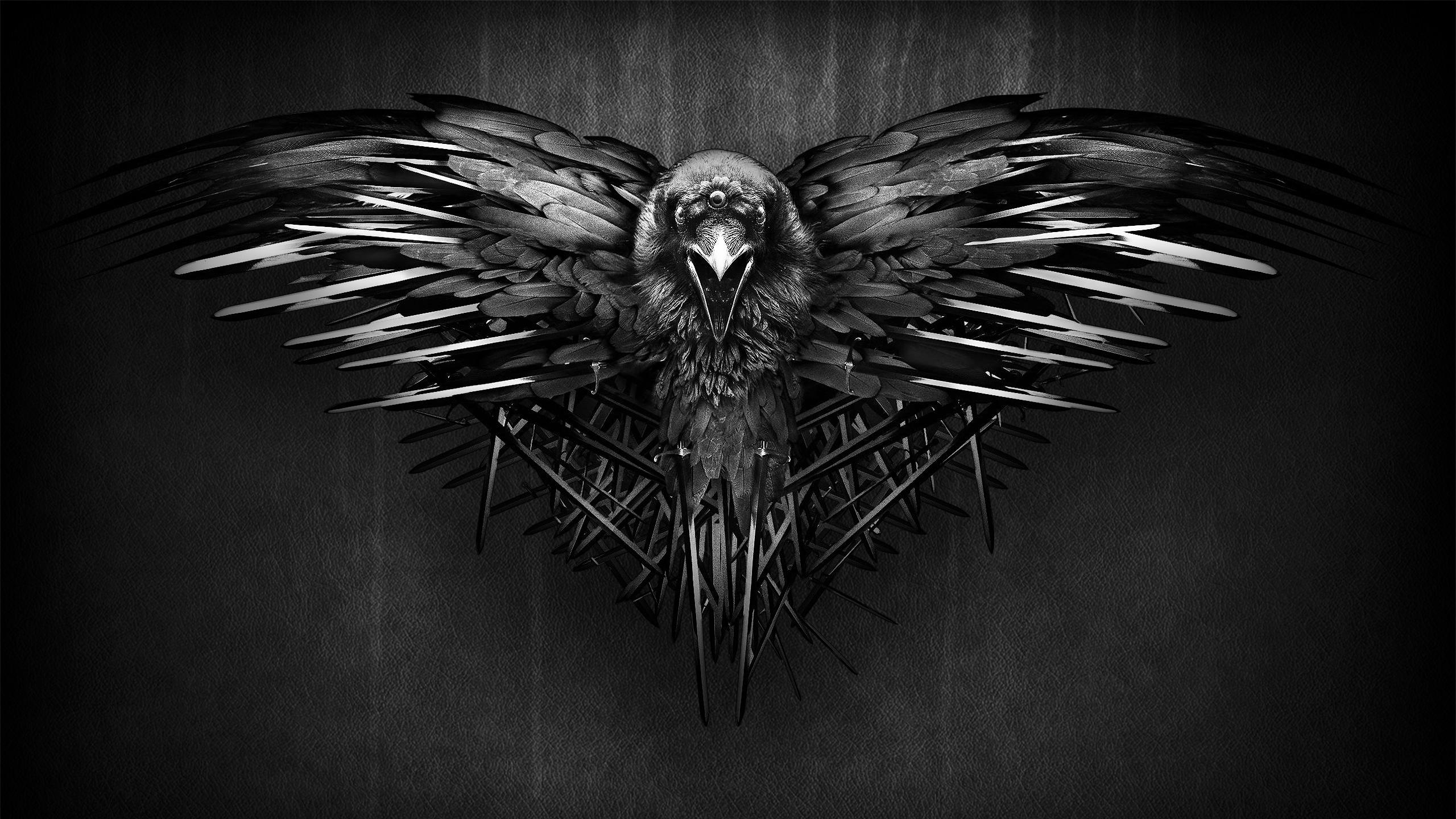 [No Spoilers] Raven Wallpaper With Dark Background Imgur