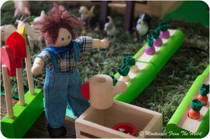 SMALL WORLD PLAY Farm Collection – Plan Toys Vegetable Garden