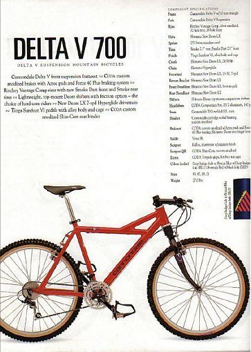 ae51e0e3cd3 1993 Cannondale Delta V 700 the finest bicycle ever made   bicycles ...