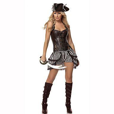 Pirata Costumes carreira Fantasias de Cosplay Baile de