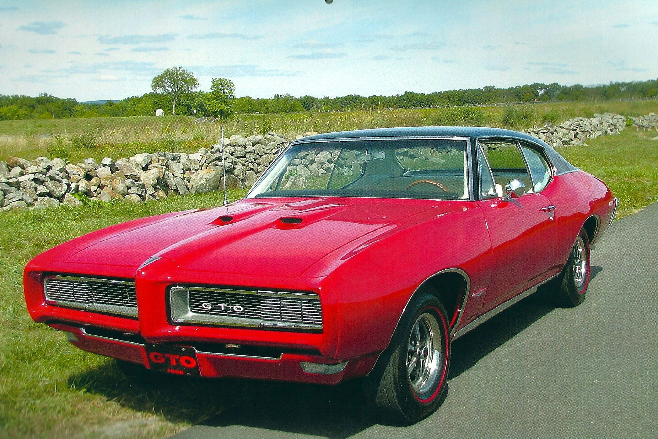 Look at this beautifully restored 1968 Pontiac GTO, built by ...