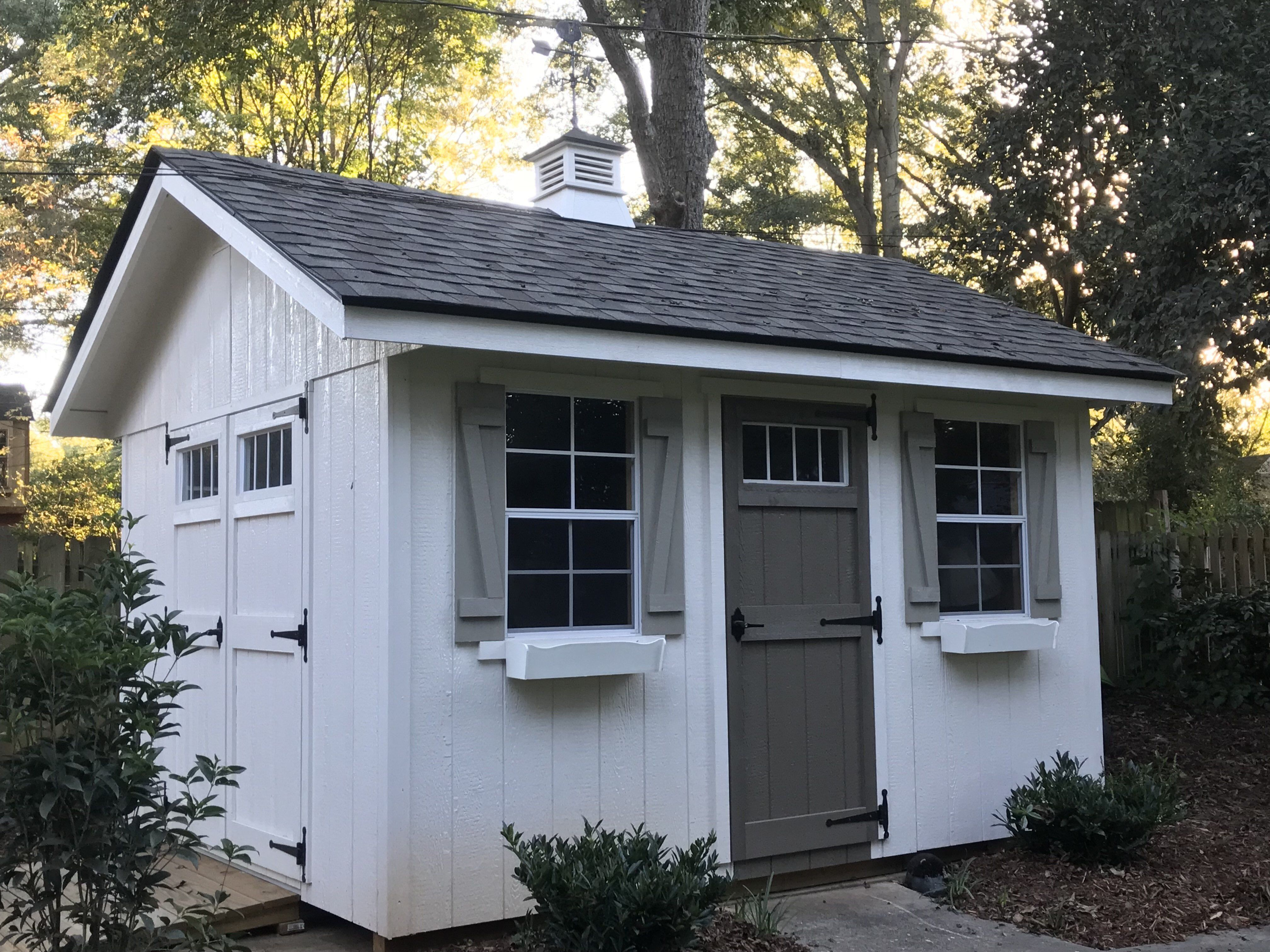 Riverside 10 ft. W x 12 ft. D Wood Storage Shed in 2019