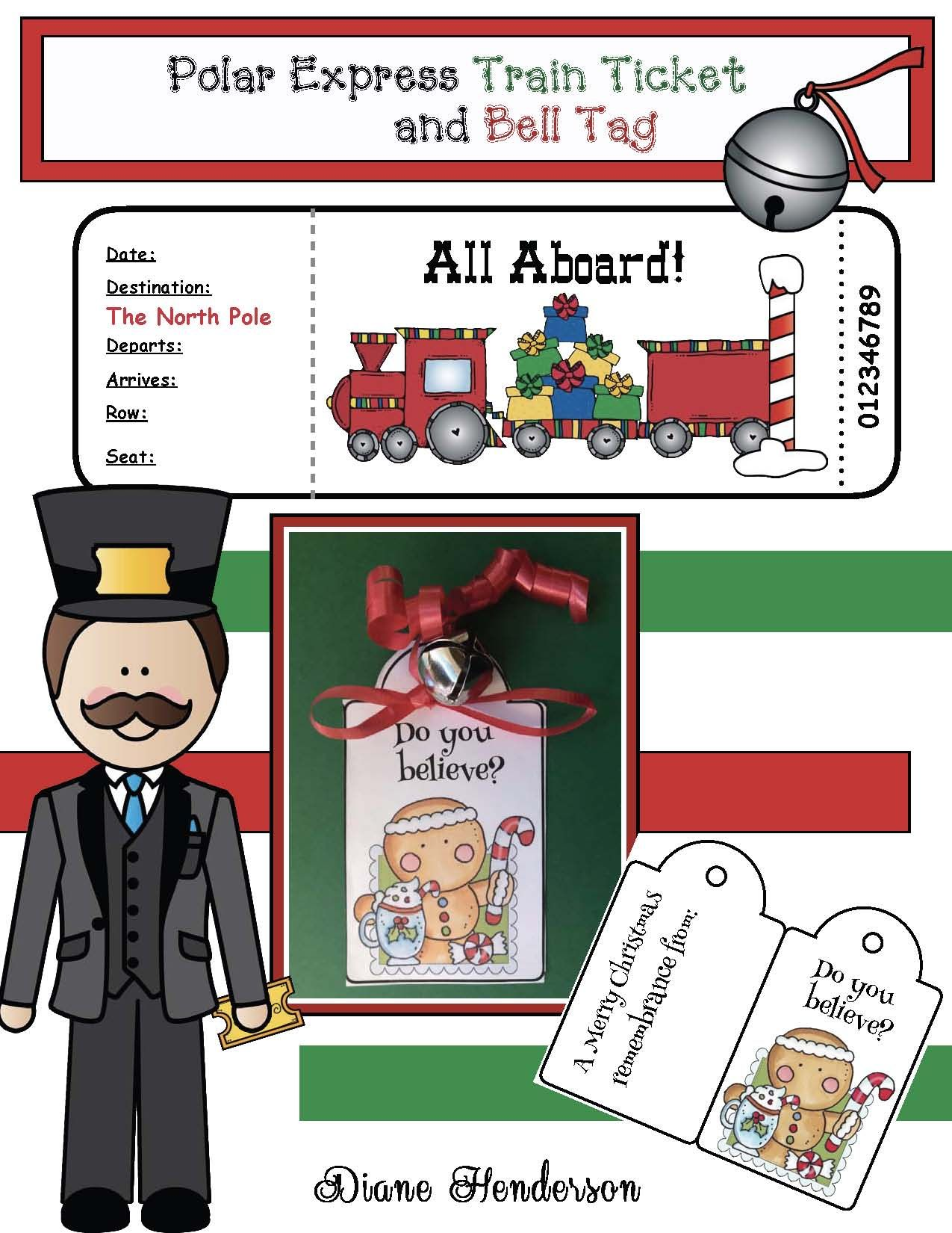 Fun Activities To Go With The Polar Express Story
