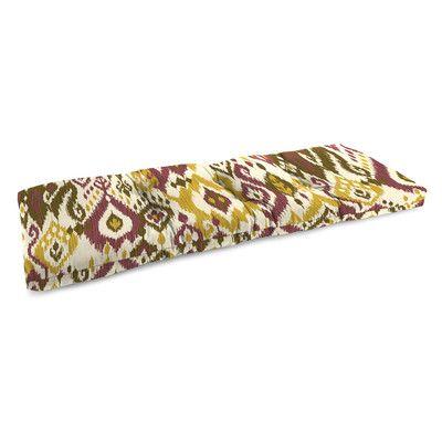 Jordan Manufacturing Universal Outdoor Bench Cushion & Reviews | Wayfair
