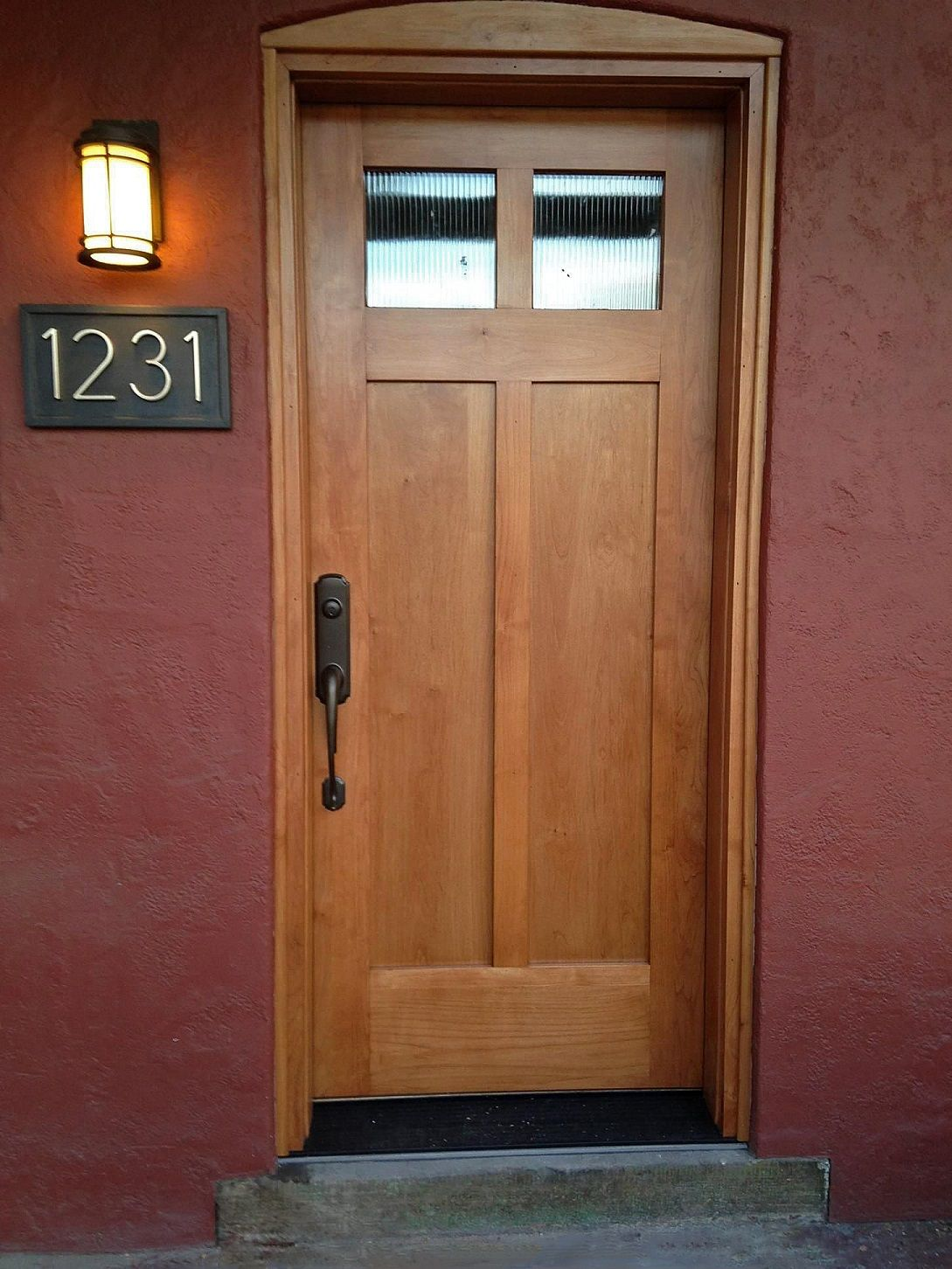 The jamb is the wood framework that the door is set in. The casing ...