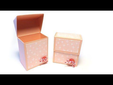 schachteln basteln f r kleine geschenke vorlagen und. Black Bedroom Furniture Sets. Home Design Ideas