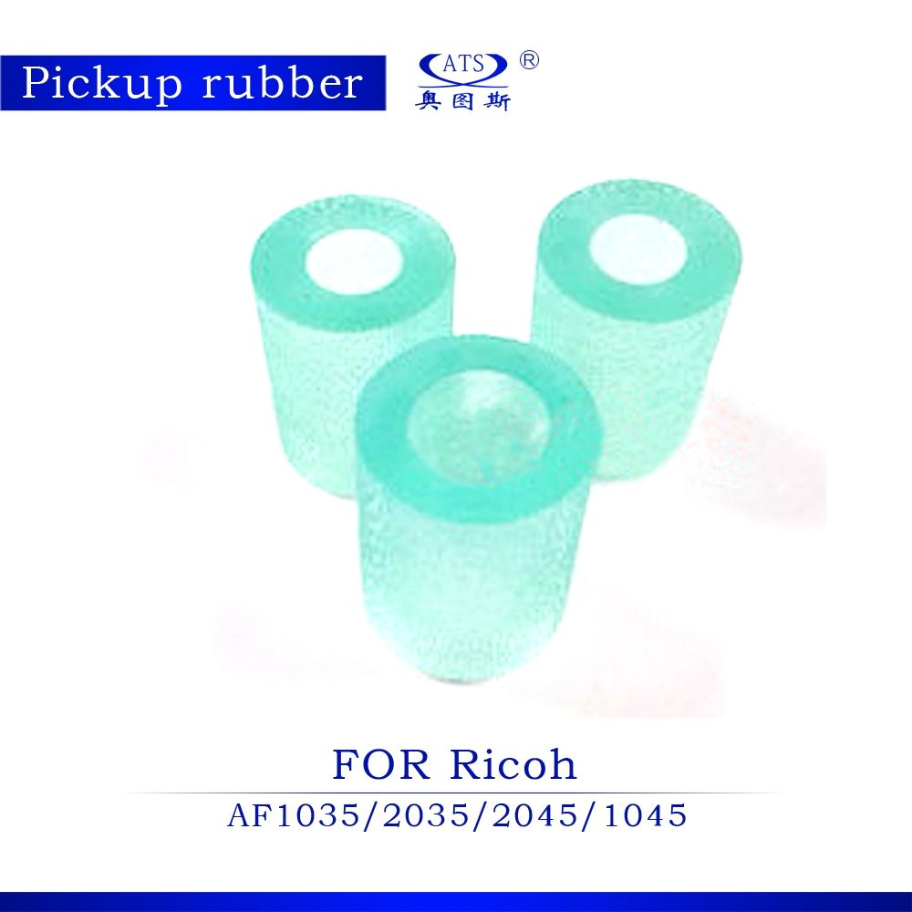 3PCS/Set For Ricoh AFicio AF1035 AF2035 AF2045 AF1045 parts 1035 2035 2045  1045 Pickup Rubber Copy Machine Copier Rubber