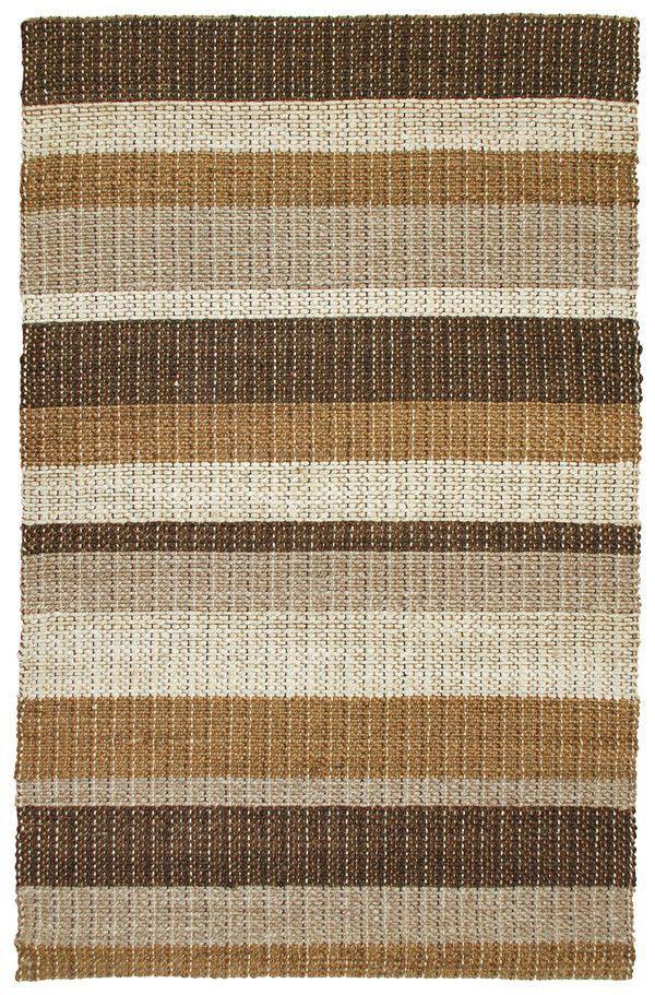 Rosella Hand-Braided Cocoa Area Rug