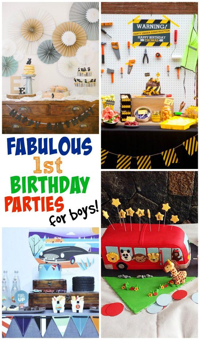 1 Birthday Ideas Boy