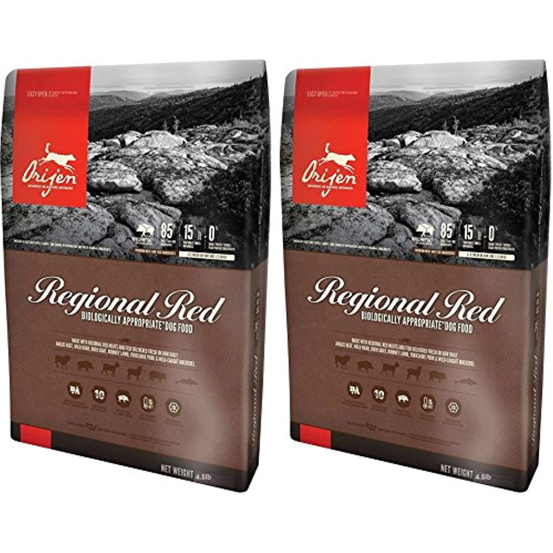 Orijen Regional Red For Dogs 4 5 Pounds Per Bag 2 Pack Read