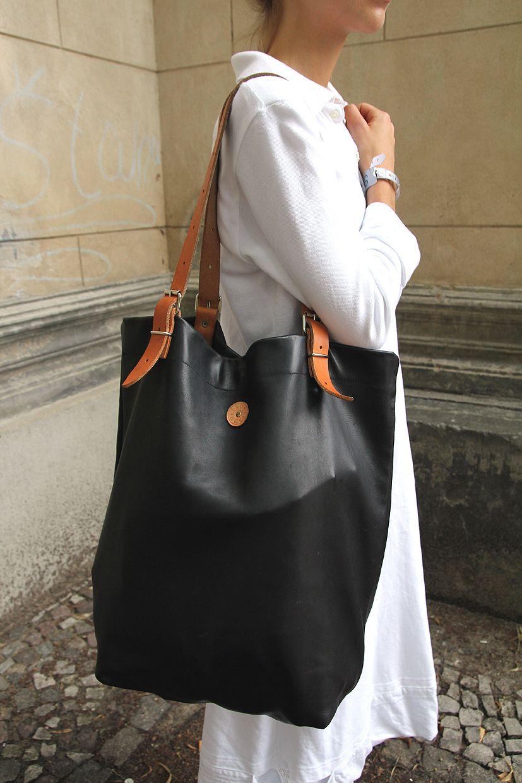 After MALAIKARAISS…Villa Elisabeth, Berlin Кожаные сумки