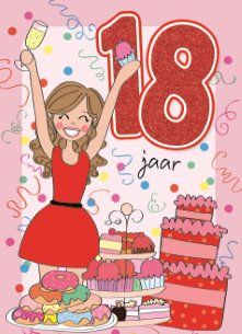 jarig 18 Finally, 18! #Hallmark #HallmarkNL #happybirthday #birthday  jarig 18