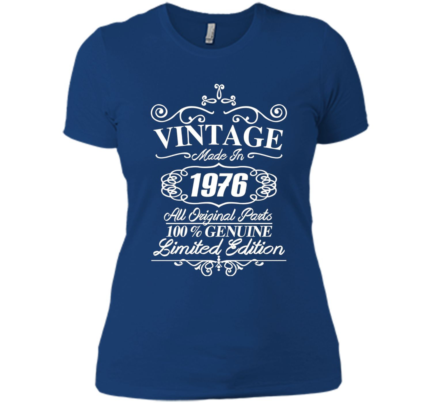 Vintage Made In 1976 T Shirt