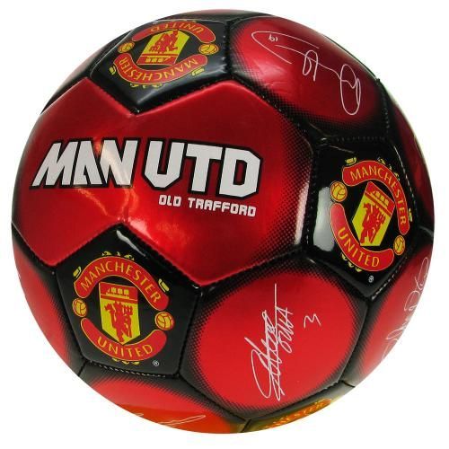 0dd1bcaea Manchester United F.C. Football Signature - synthetic football - size 5 -  32 panel - official licensed product