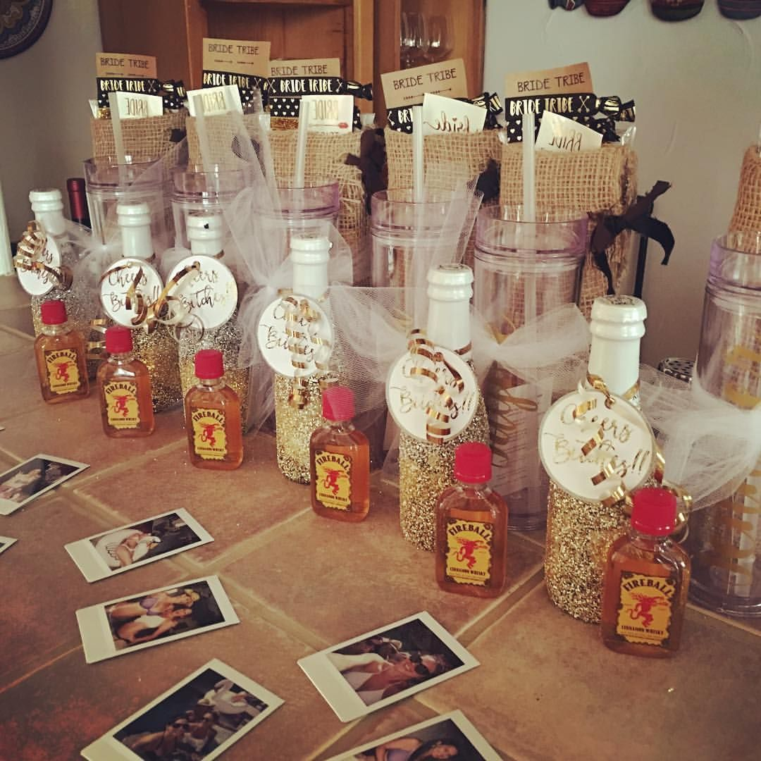 """DIY Bachelorette Party Favors! Personalized Cocktail"