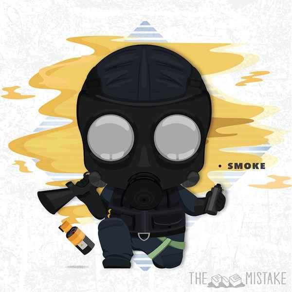 Smoke (British Unit) from Tom Clancy's Rainbow Six Siege