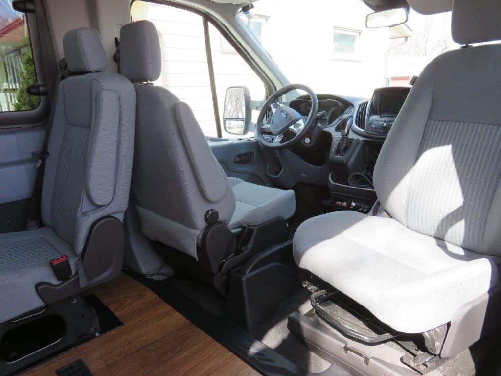 Ford Transit passenger Swivel Seat Plate with Installation