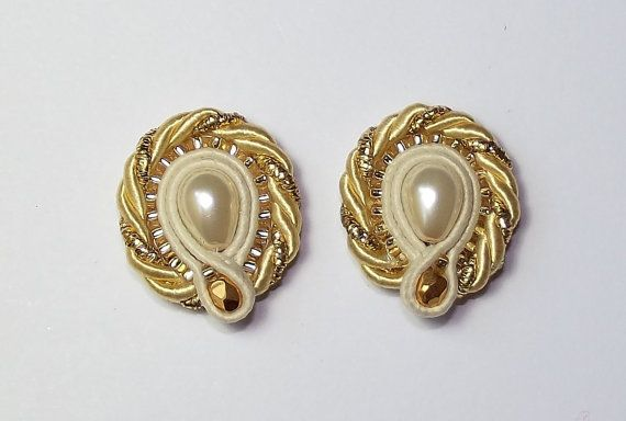 Soutache jewelry. Soutache Earrings via Etsy